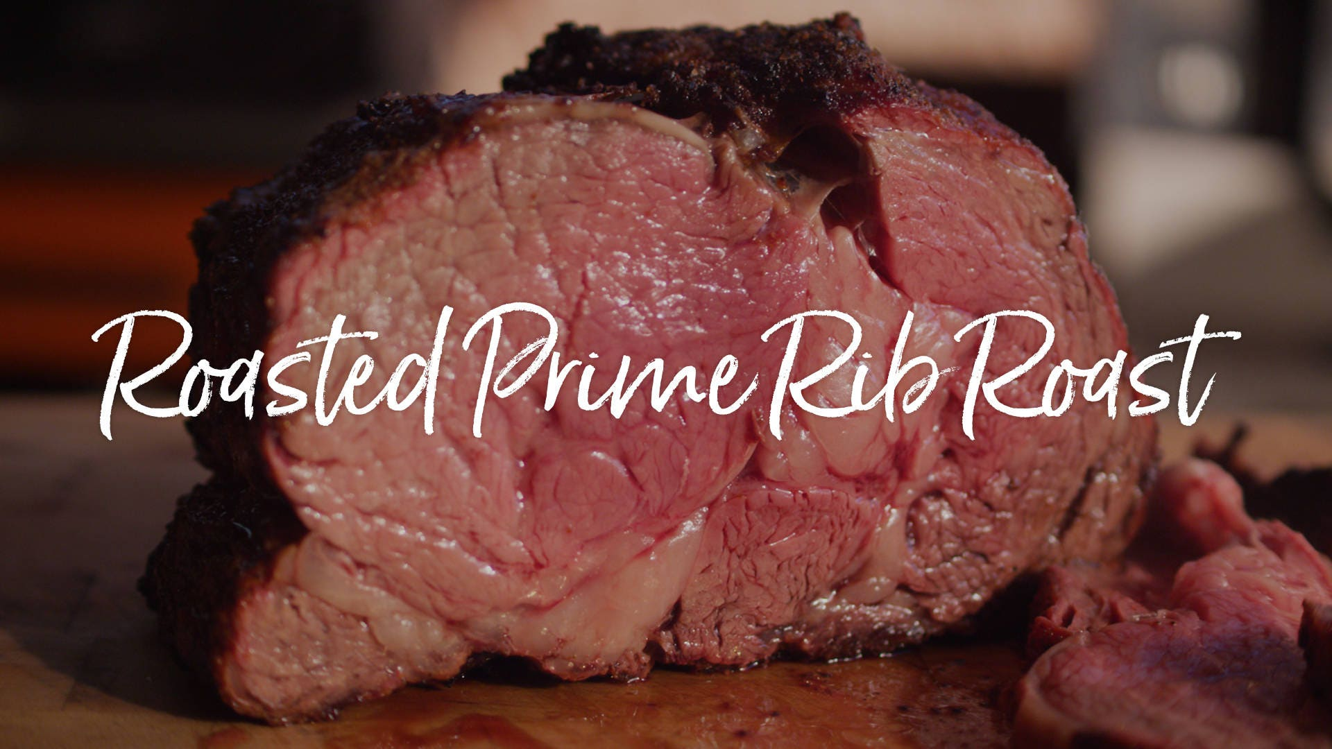 How to make Smoke Roasted Prime Rib Roast