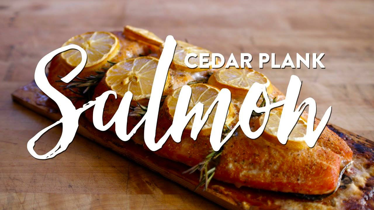 Recipe for Cedar Plank Salmon