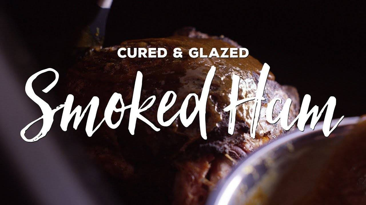 Making Cured & Glazed Smoked Ham