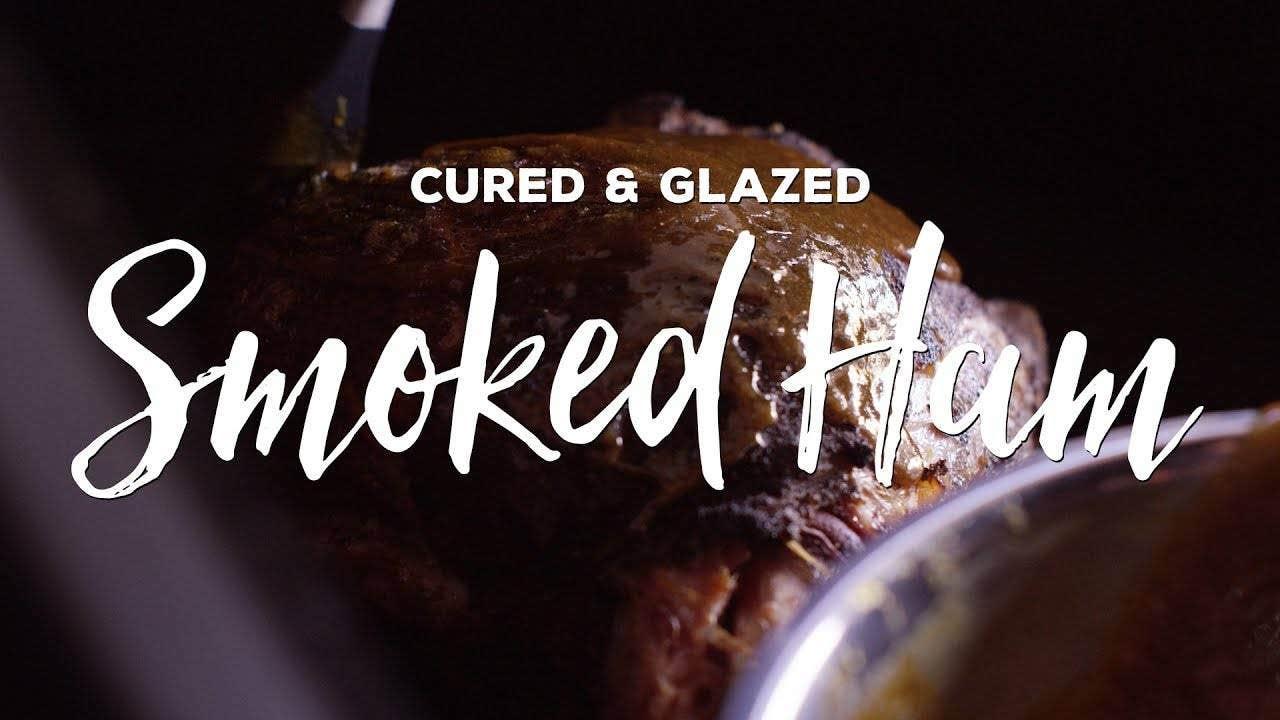 Making Cured & Glazed Smoked Ham