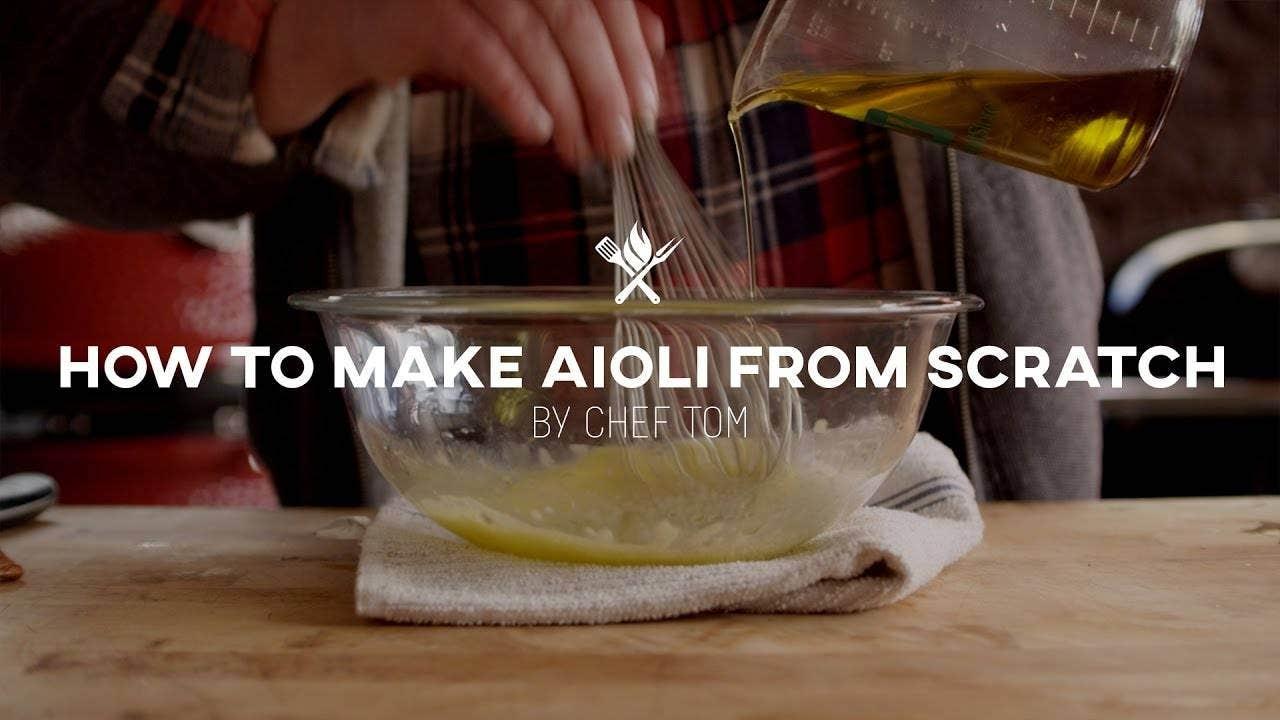 Jalapeño Mustard Aioli Recipe