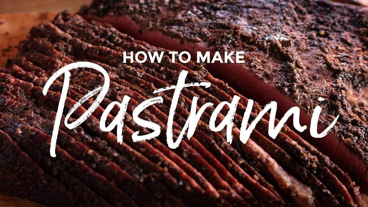 Recipe for making Pastrami