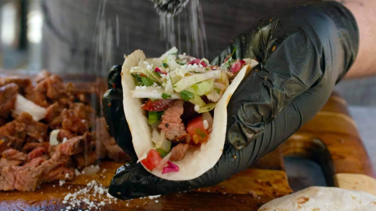 Recipe for Street Tacos