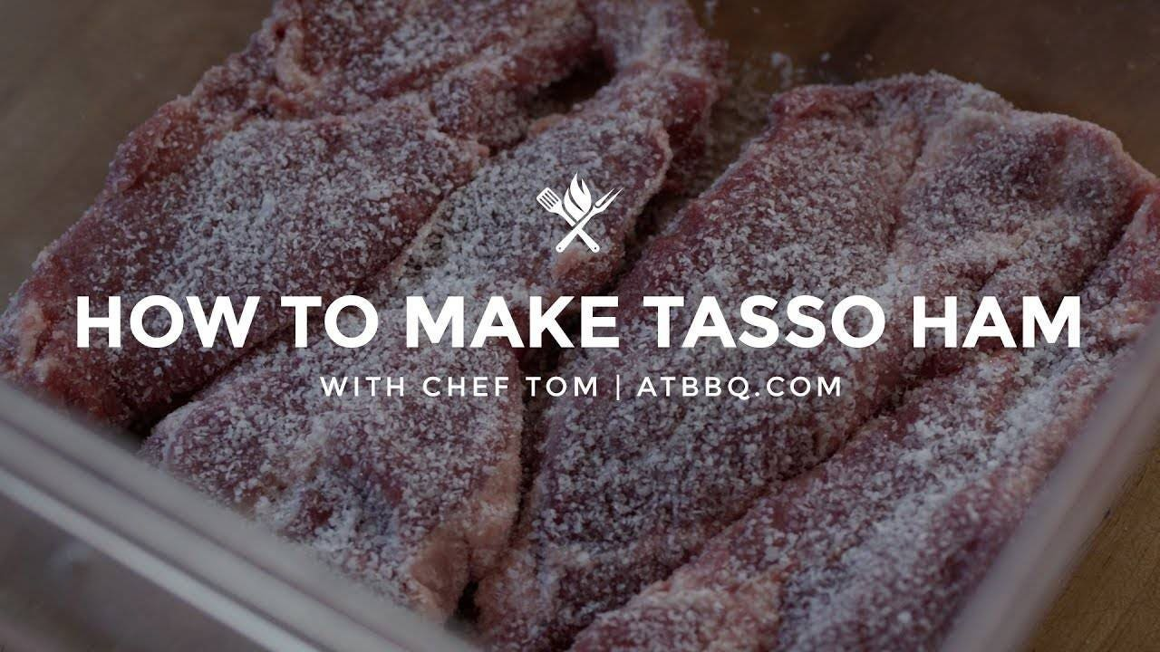 Recipe for making Tasso Ham