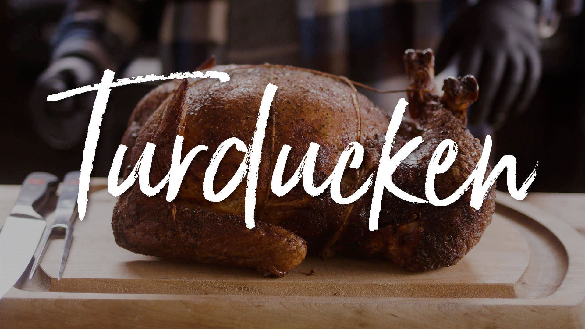 How to make Turducken