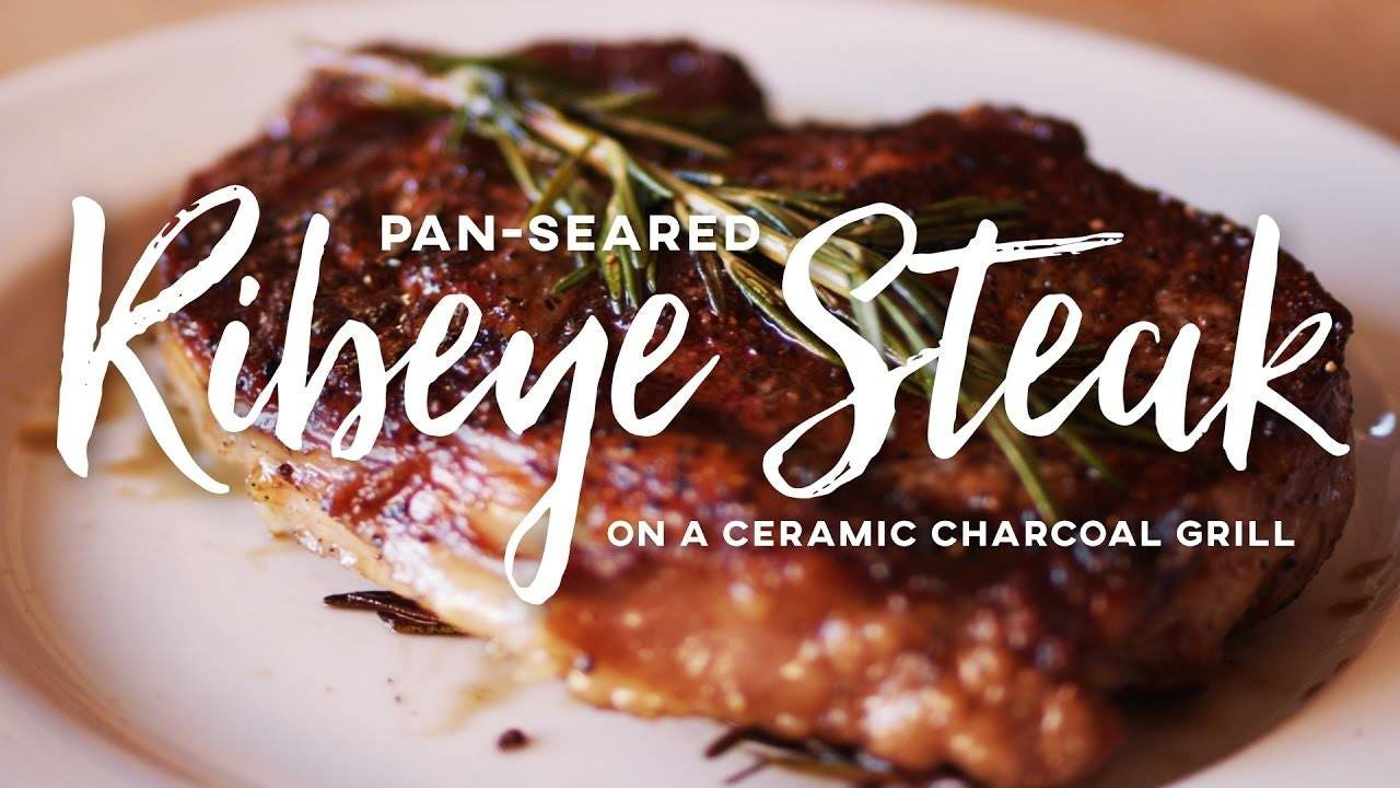 Pan-Seared Ribeye Steak Recipe