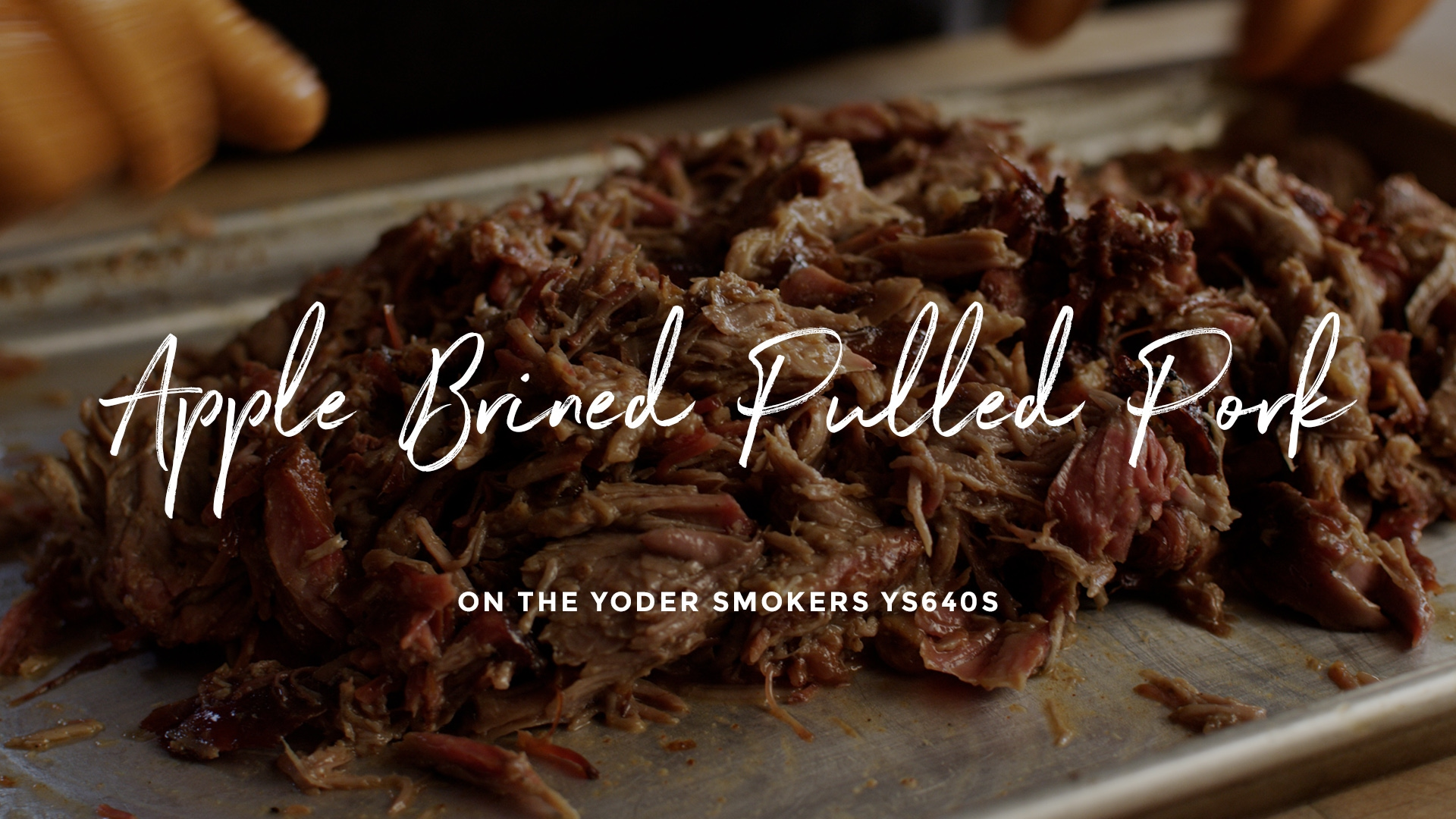 How to make Apple Brined Pulled Pork