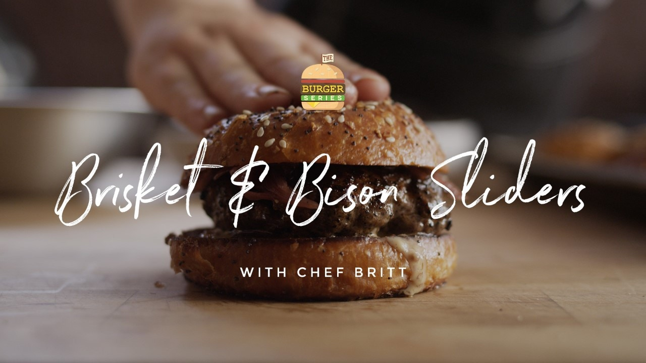 How to make Brisket & Buffalo Sliders