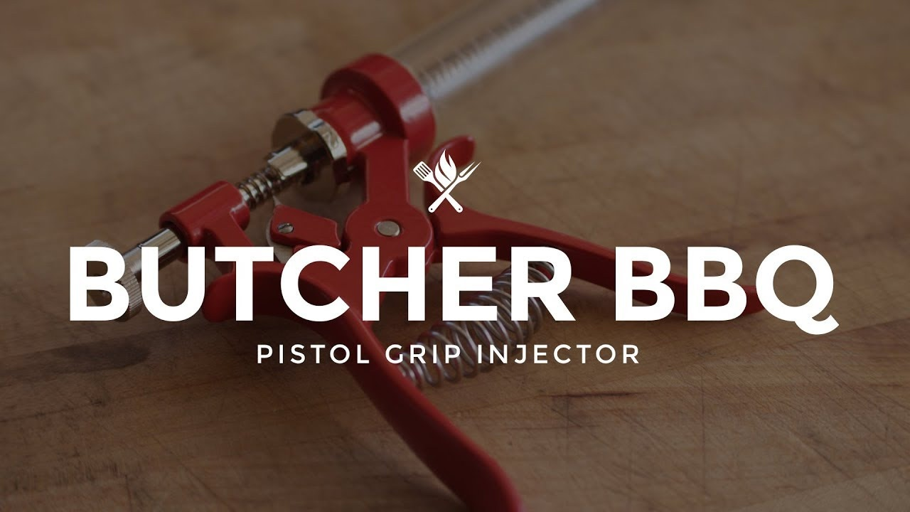 Product Roundup: Butcher BBQ Pistol Grip Injector