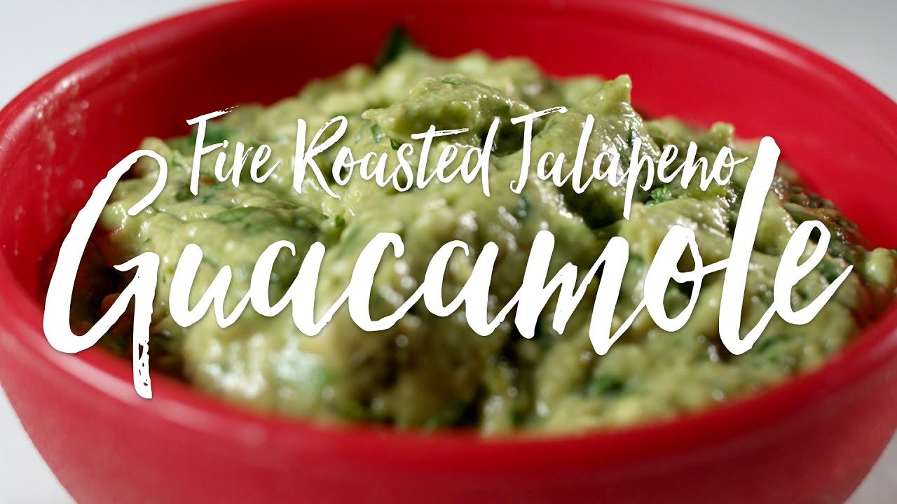 Fire Roasted Jalapeño Guacamole Recipe