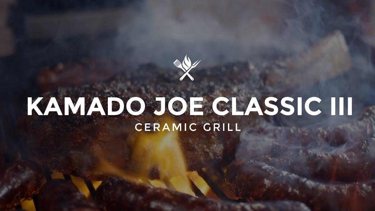 Product Roundup: Kamado Joe Classic III