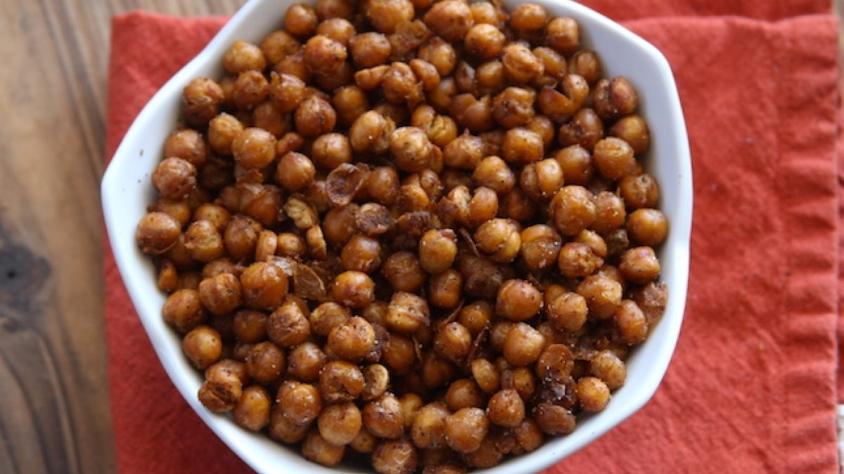 Roasted BBQ Chickpeas Recipe