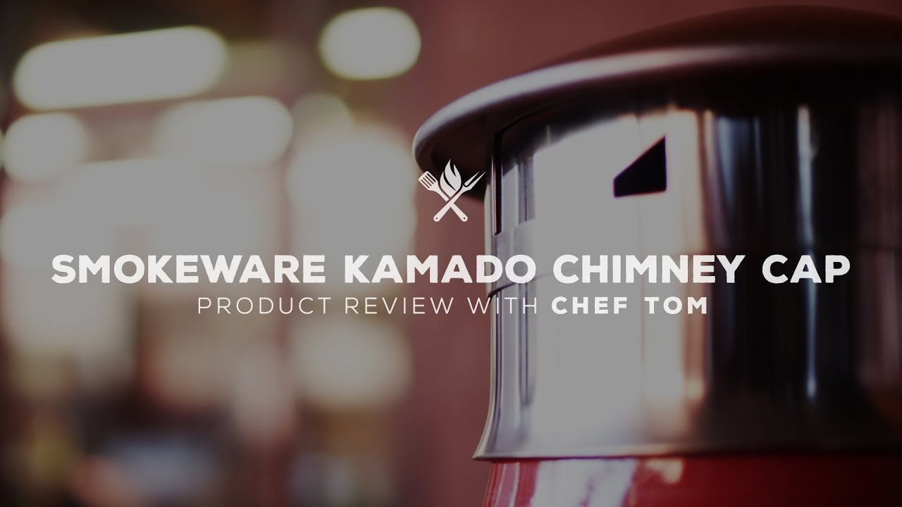 Smokeware Chimney Cap for Ceramic Grills Overview