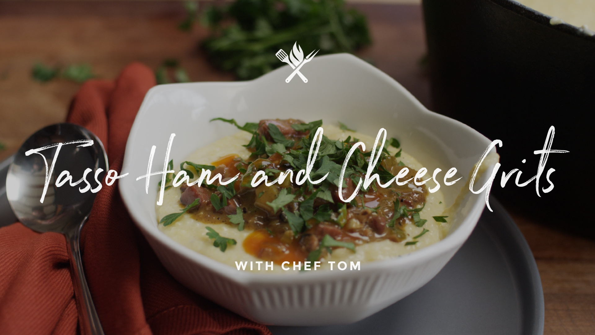 How to make Tasso Ham & Cheese Grits