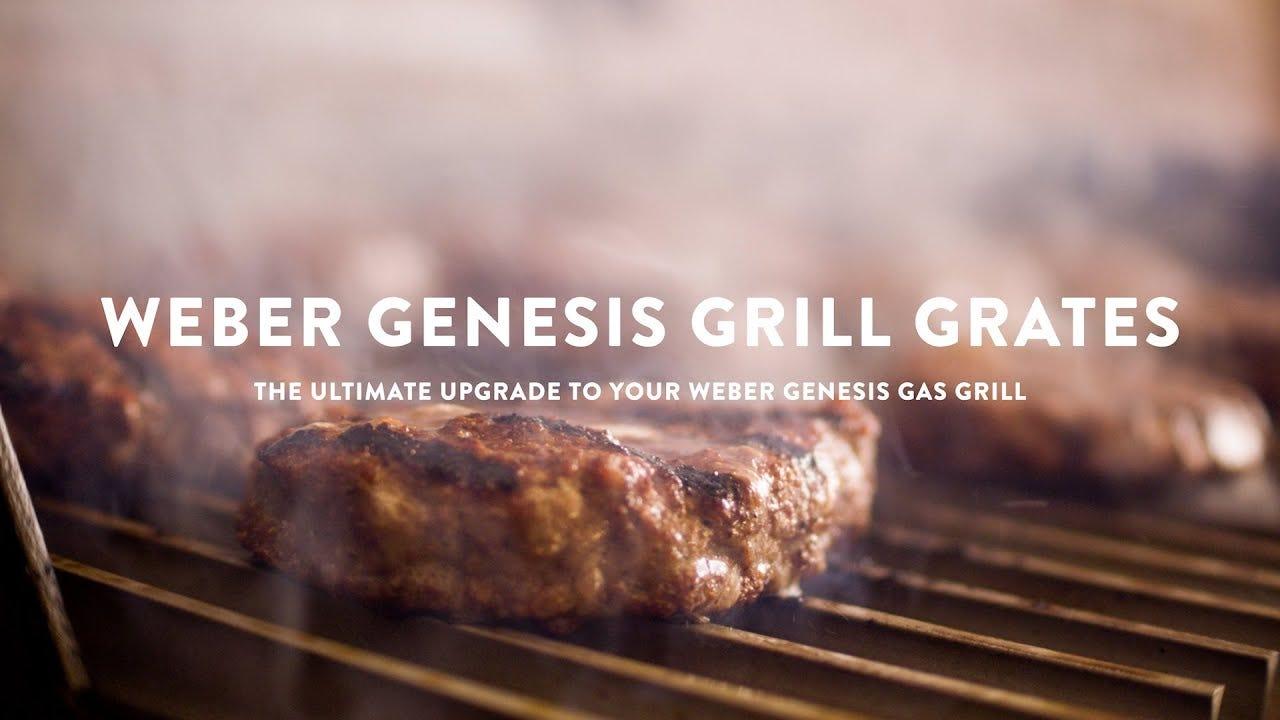 Weber Genesis Custom GrillGrates Overview
