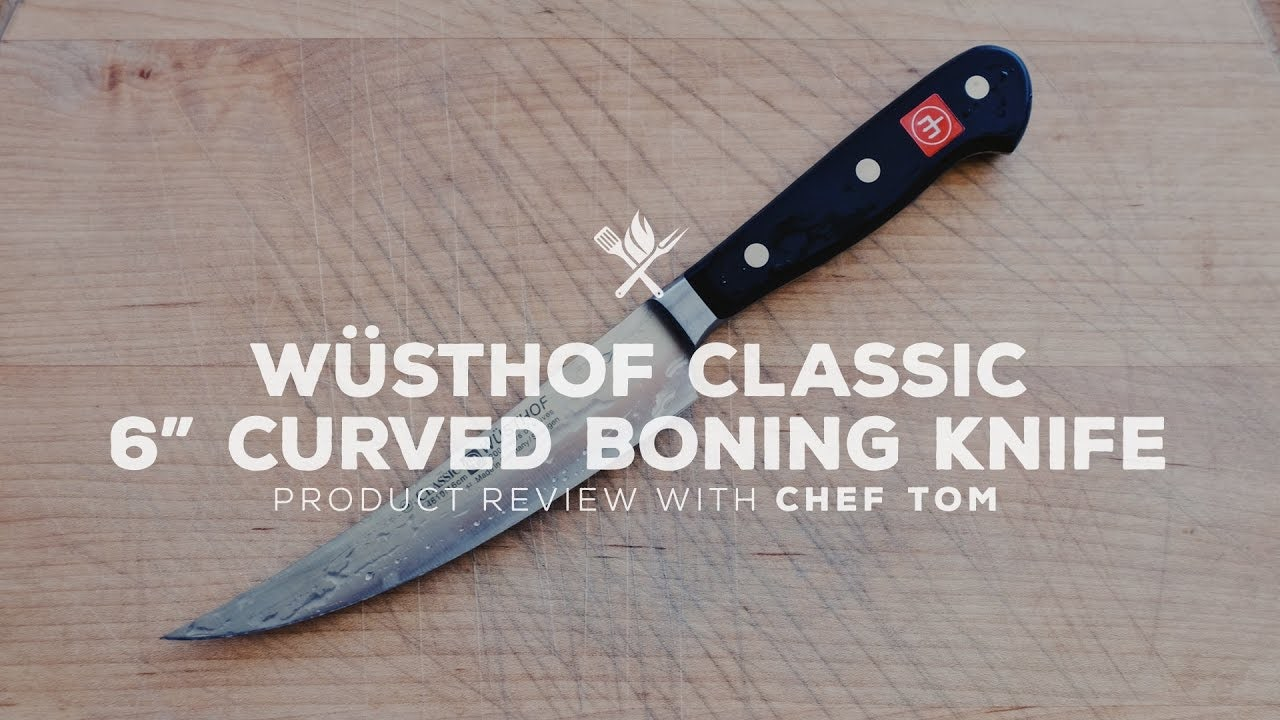 "Wusthof Classic 6"" Curved Boning Knife Overview"