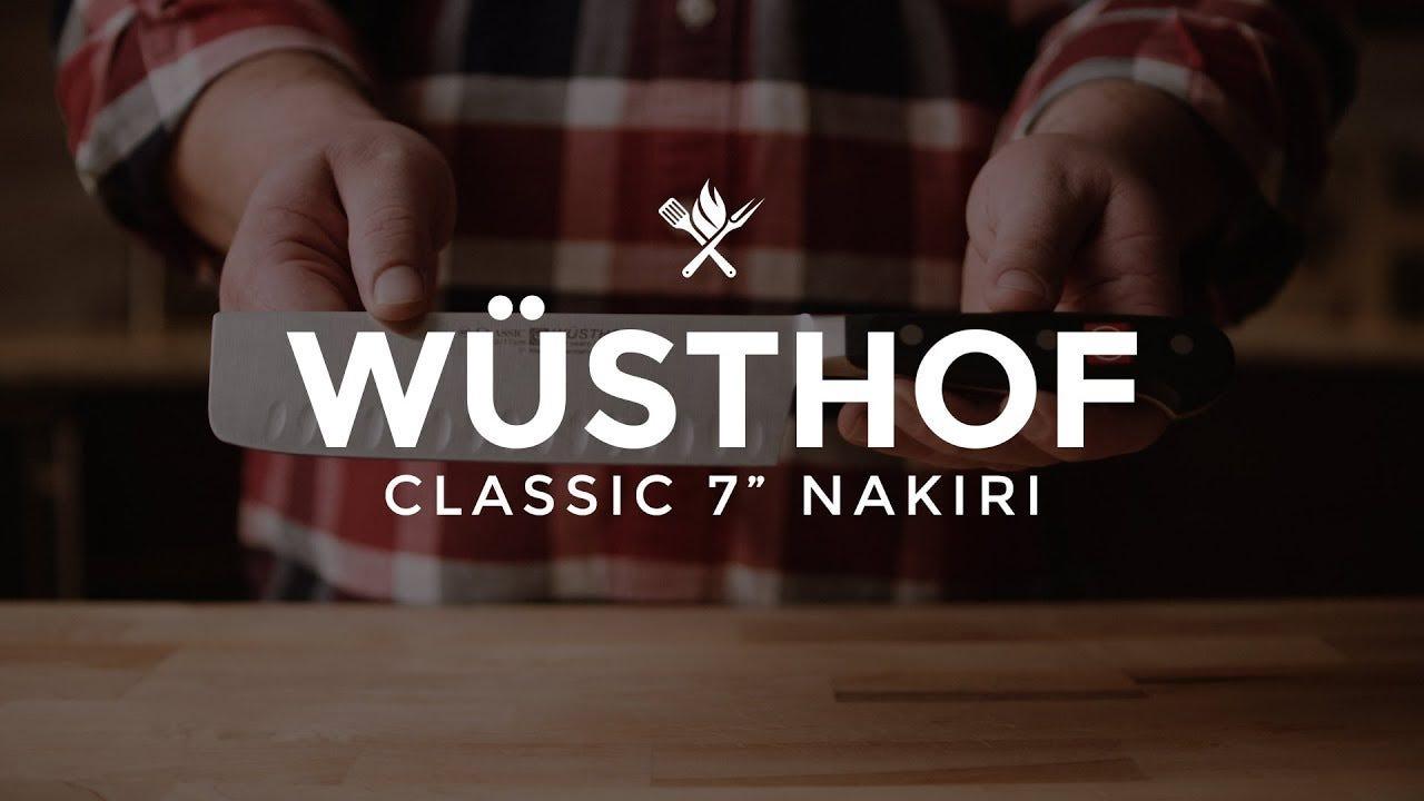 """Wusthof Classic 7"""" Nakiri Overview"""