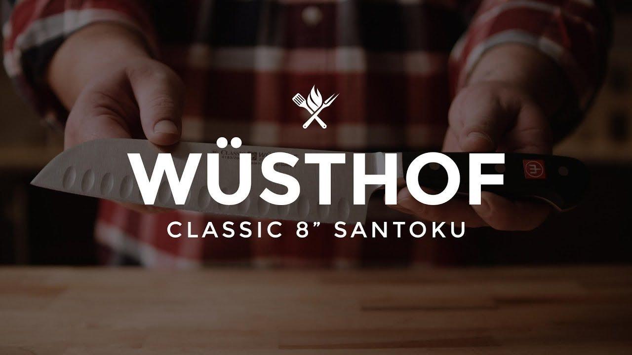 "Wusthof Classic 8"" Santoku Overview"