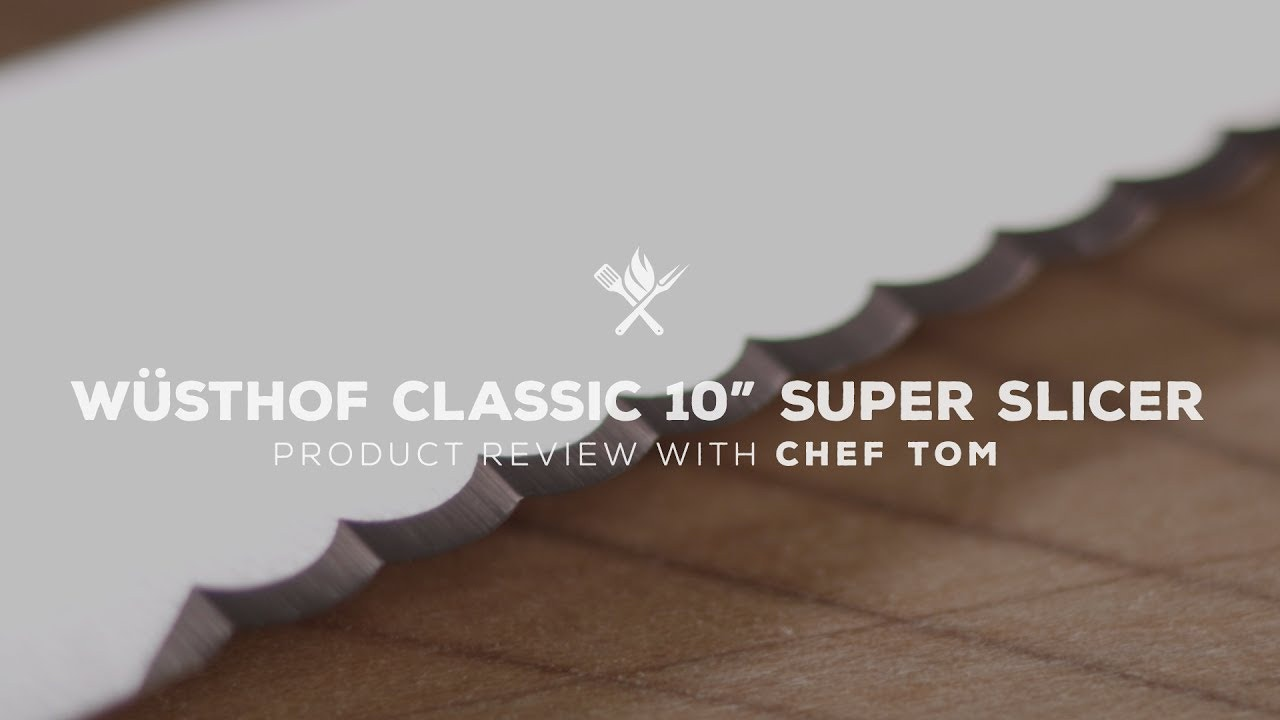 "Wusthof Classic 10"" Super Slicer Overview"