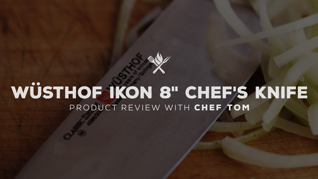 "Wusthof IKON 8"" Chef's Knife Overview"