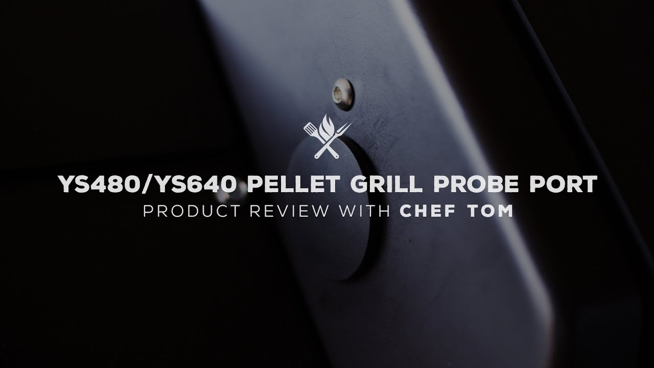Yoder Smokers Pellet Grill Probe Port Overview