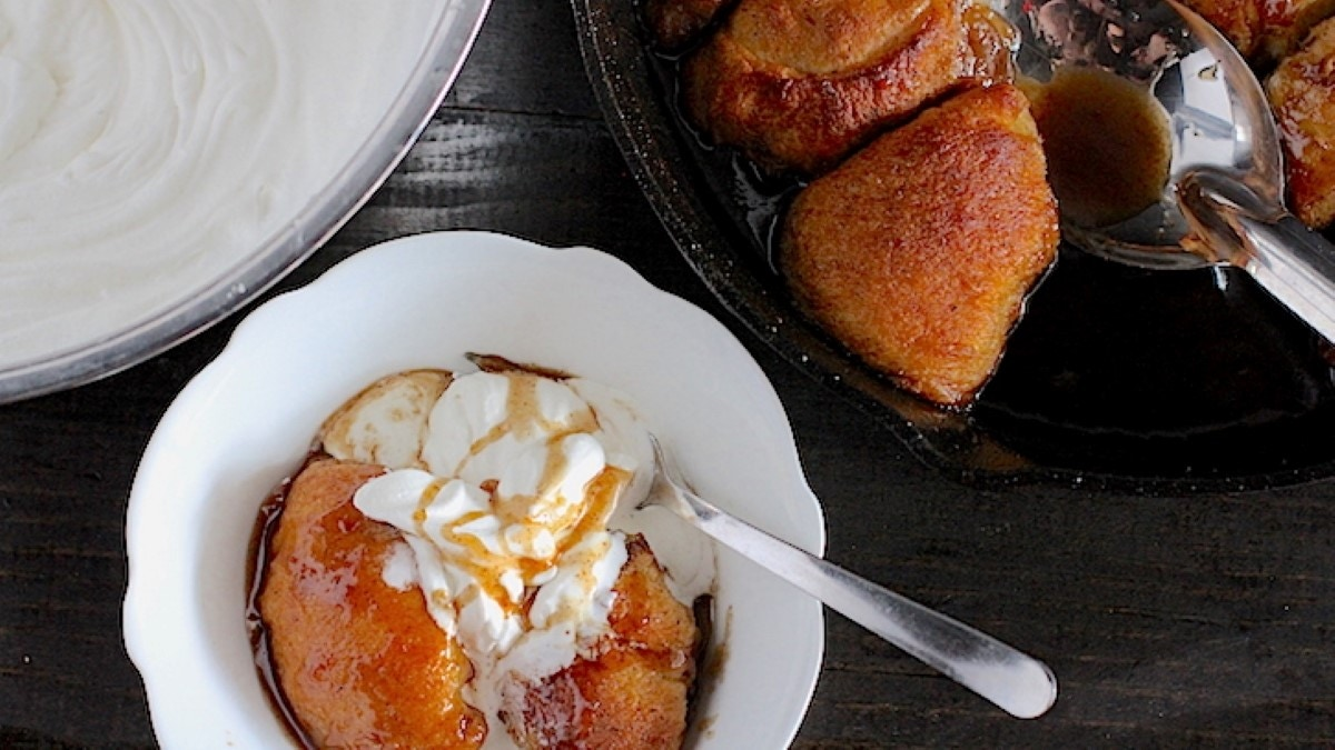 Apple Skillet Dumplings Recipe