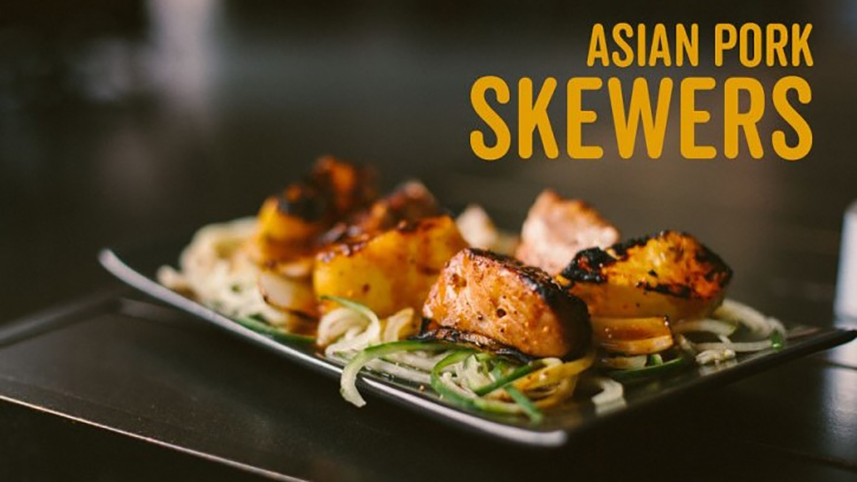 Asian Pork Skewers Recipe