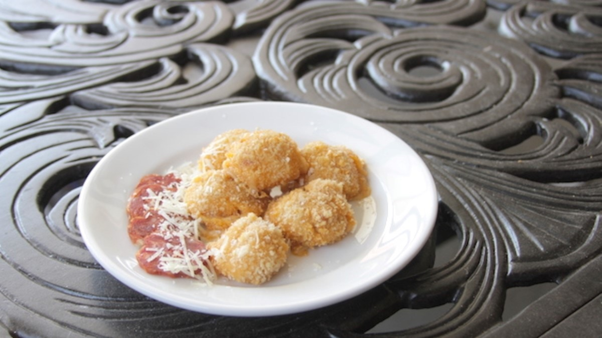 Baked Salami Croquettes Recipe