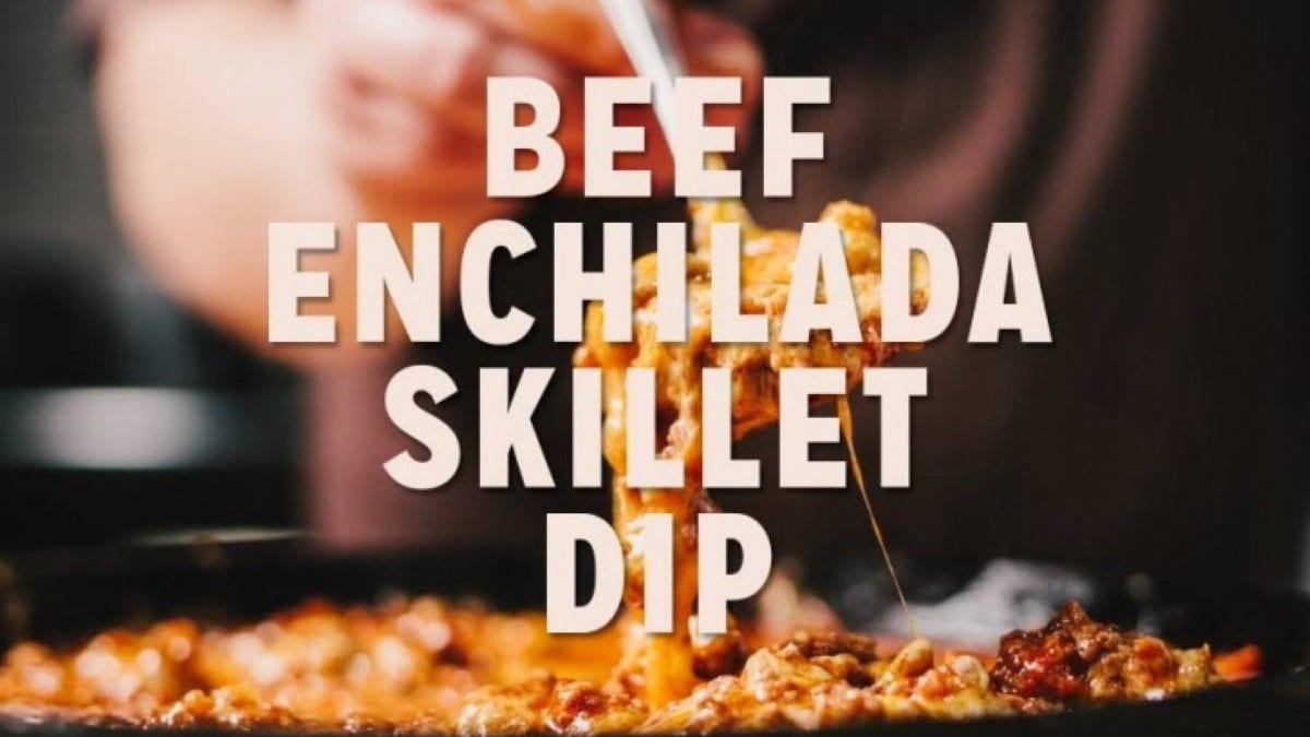 Beef Enchilada Skillet Dip Recipe