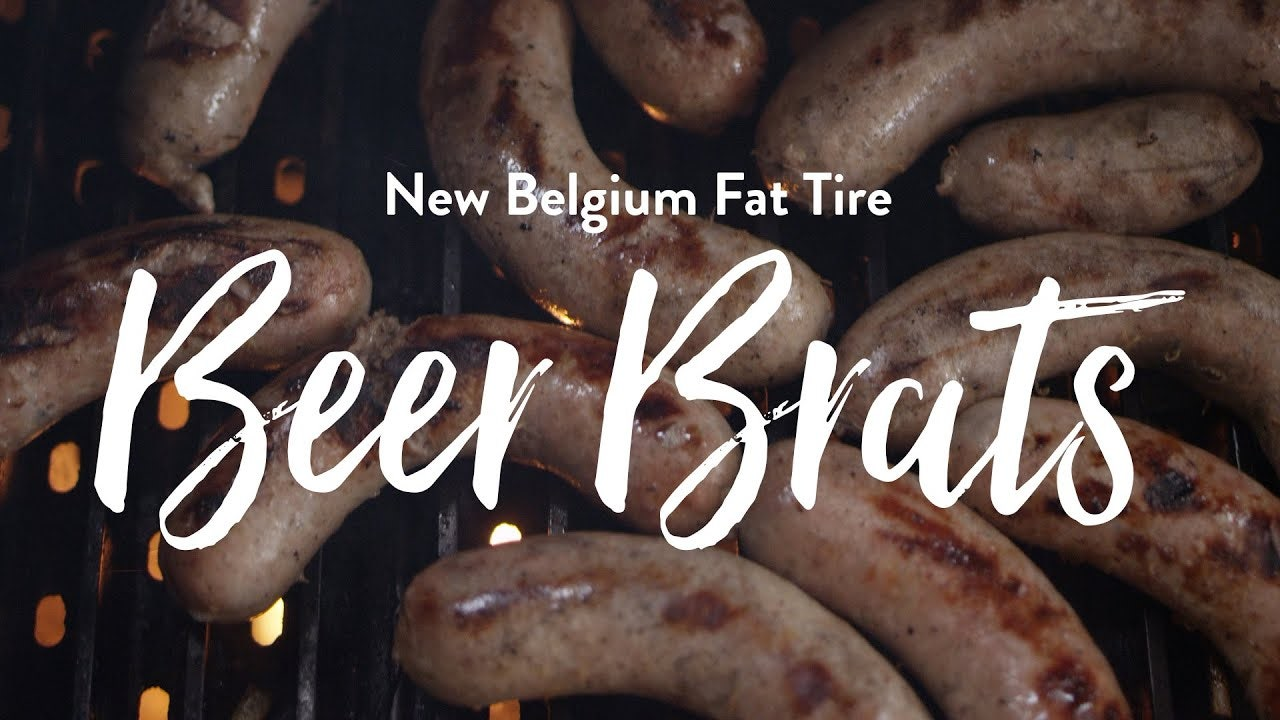 Beer Braised Beer Brats Recipe