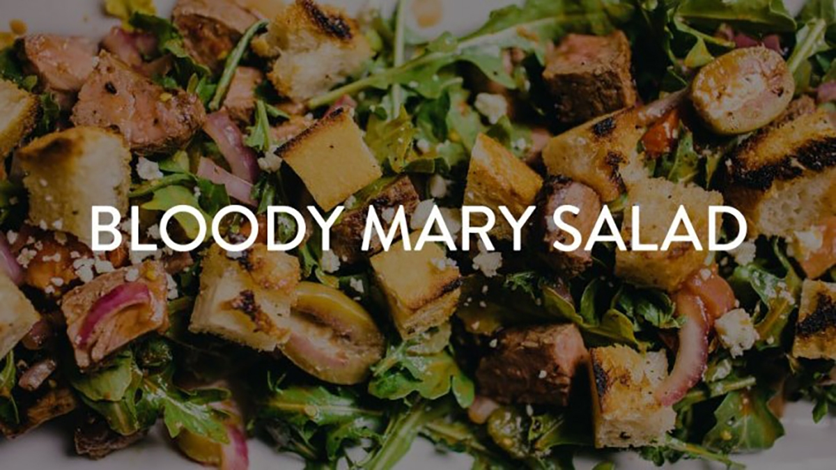 Bloody Mary Steak Salad Recipe