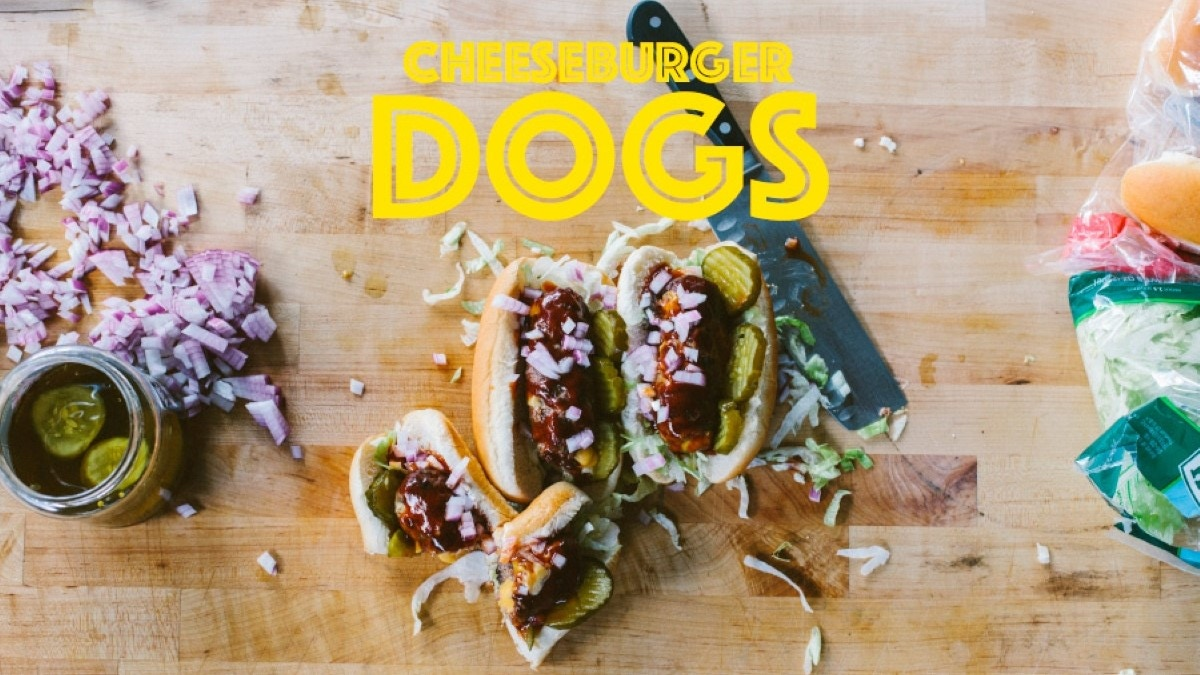 Cheeseburger Dogs Recipe