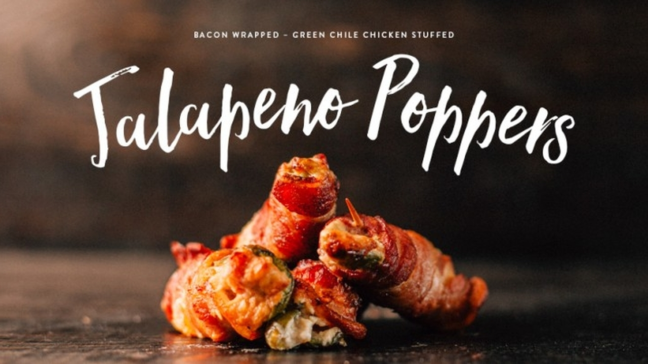 Green Chile Chicken Jalapeño Poppers Recipe