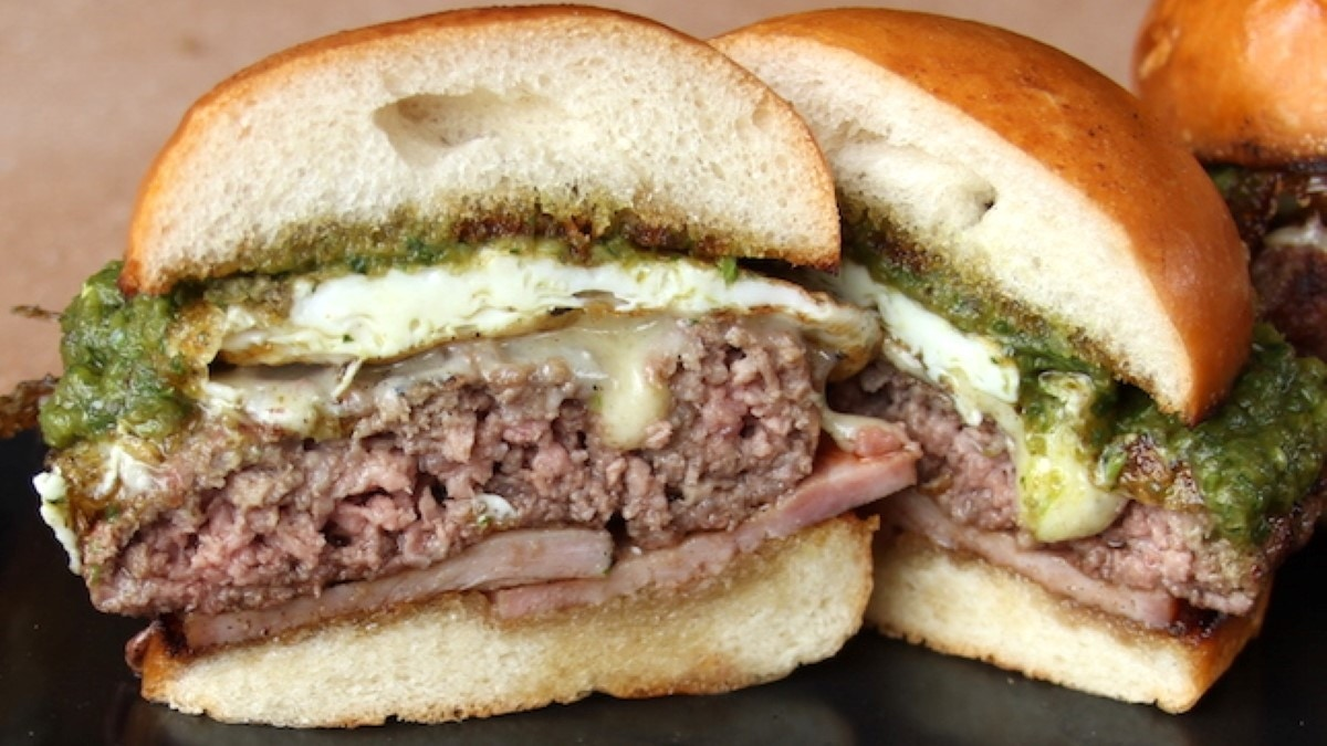 Green Eggs and Ham Burger Recipe