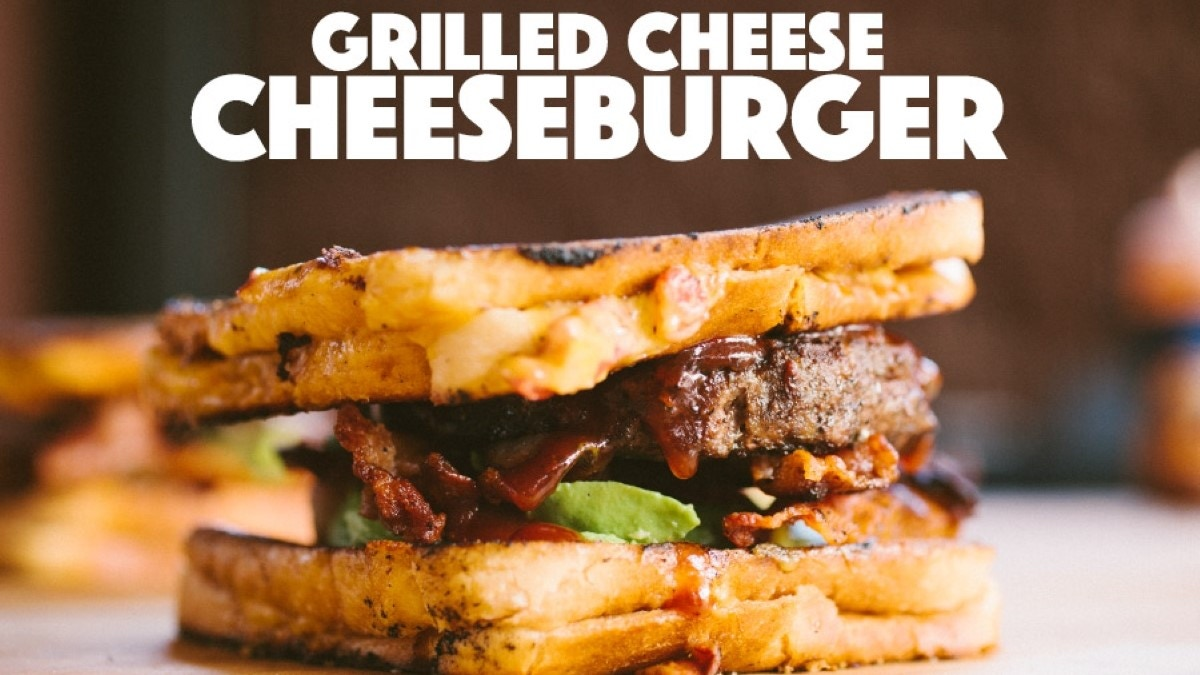 Grilled Cheese Cheeseburgers Recipe