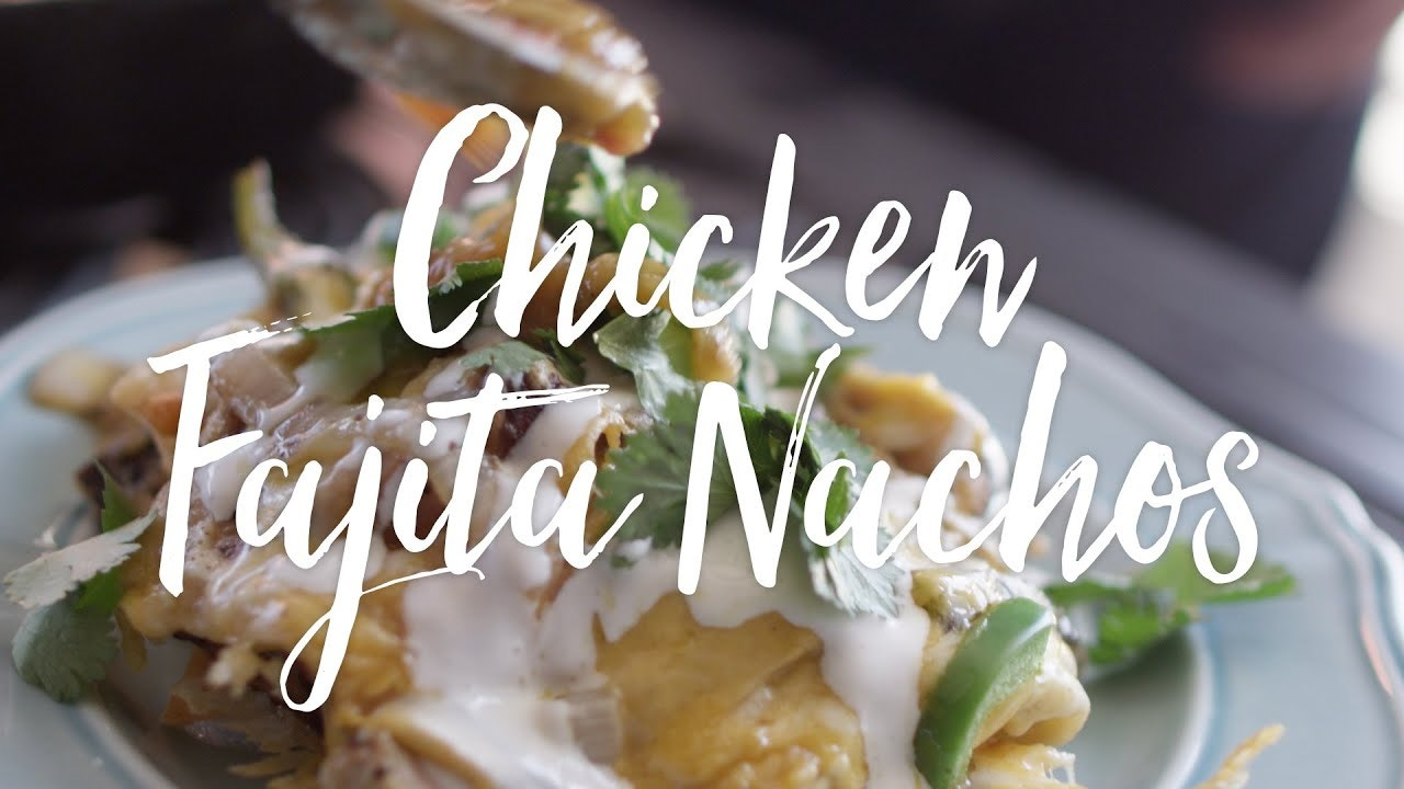 Grilled Chicken Fajita Nachos Recipe