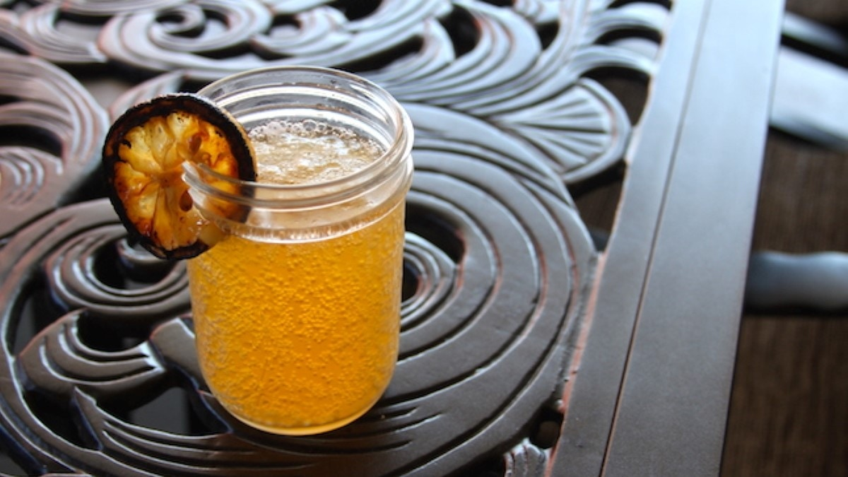 Grilled Lemon Shandy Recipe
