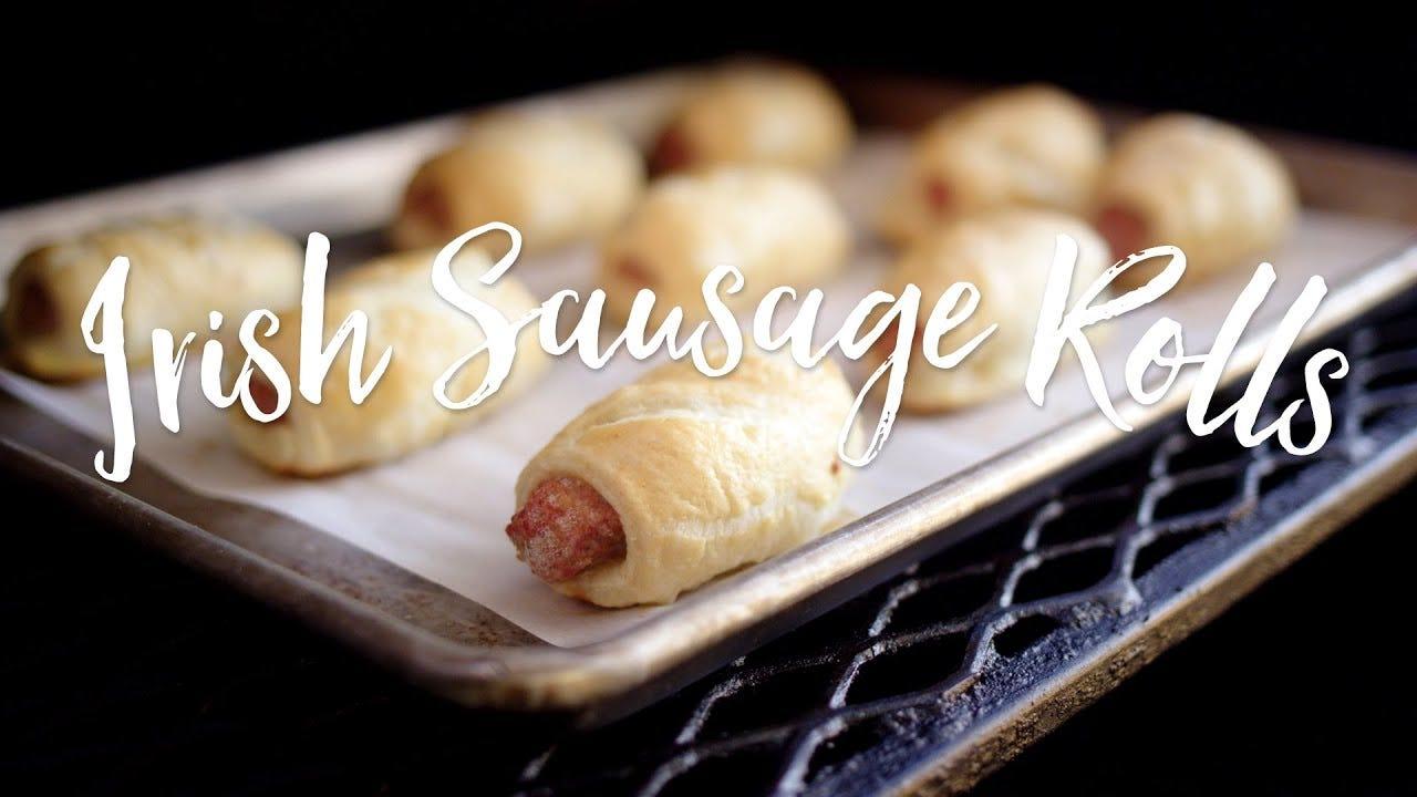 Irish Sausage Rolls Recipe