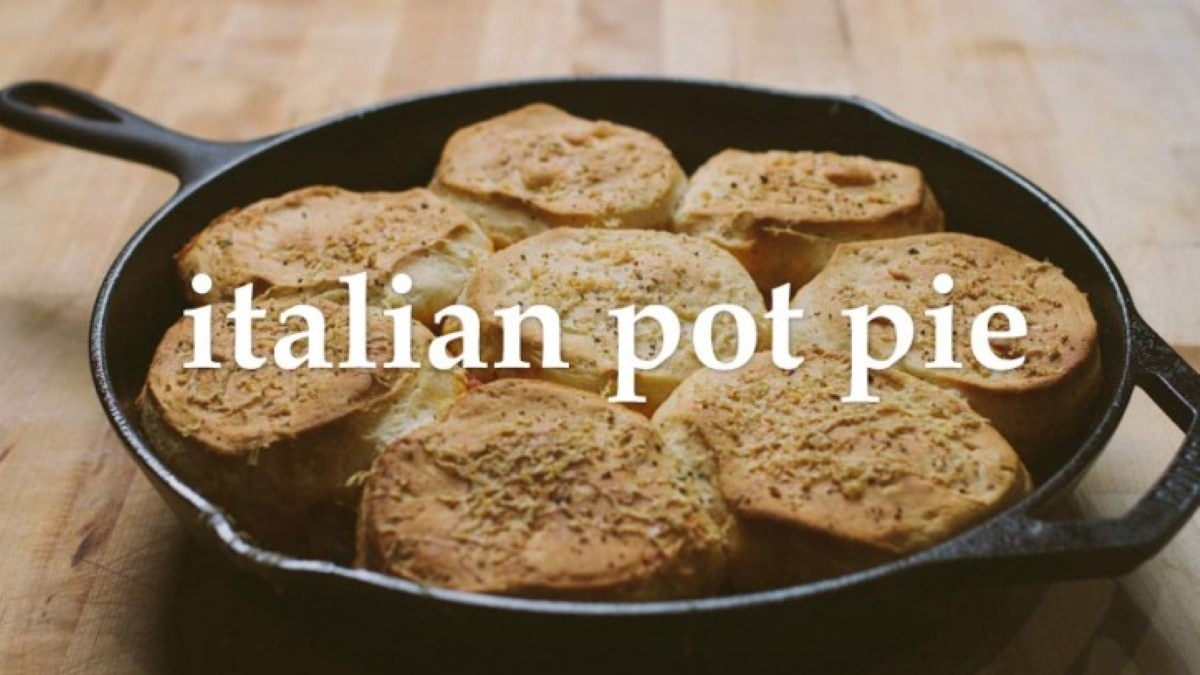 Italian Pot Pie Recipe