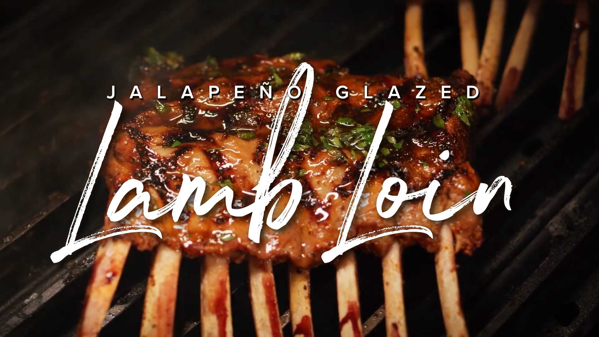 Jalapeño Glazed Lamb Loin Recipe