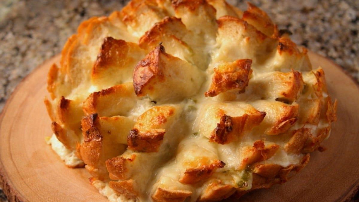 Pepper Jack Pull Apart Bread Recipe