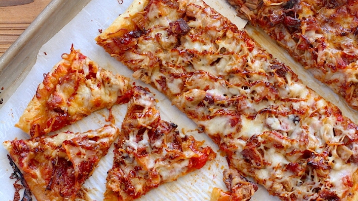 Pork Puff Pizza Recipe