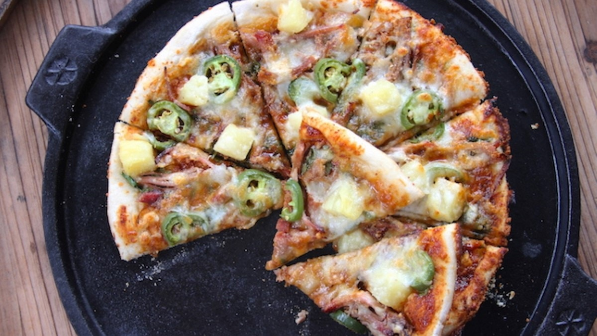 Pineapple Pulled Pork Pizza Recipe