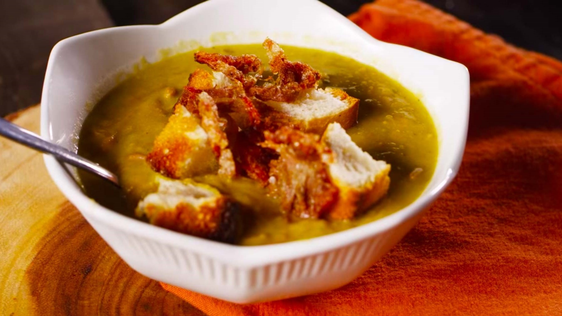 Pulled Pork Split Pea Soup Recipe