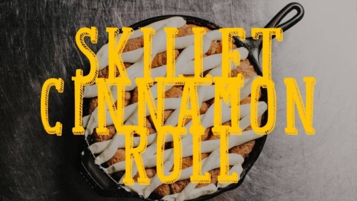 Skillet Cinnamon Roll Recipe