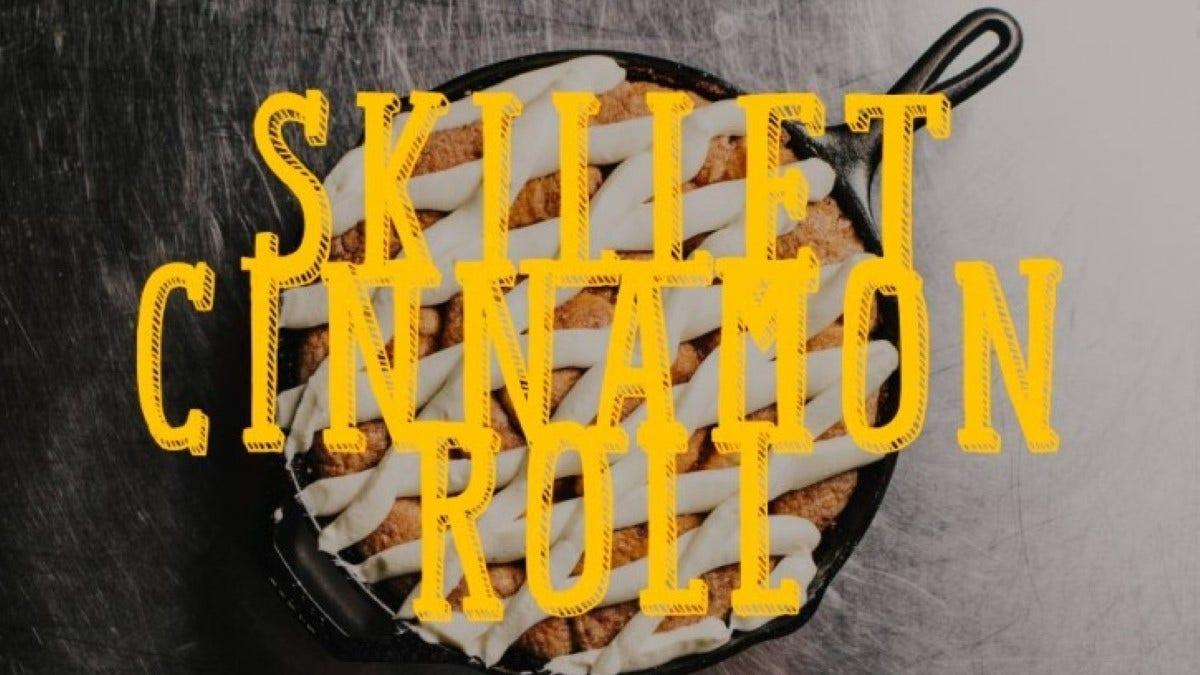Skillet Cinnamon Roll Recipe