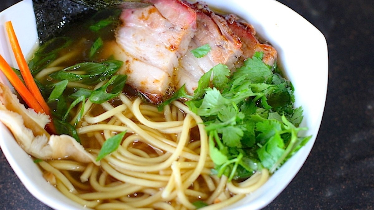 Smoked Pork Belly Ramen Recipe