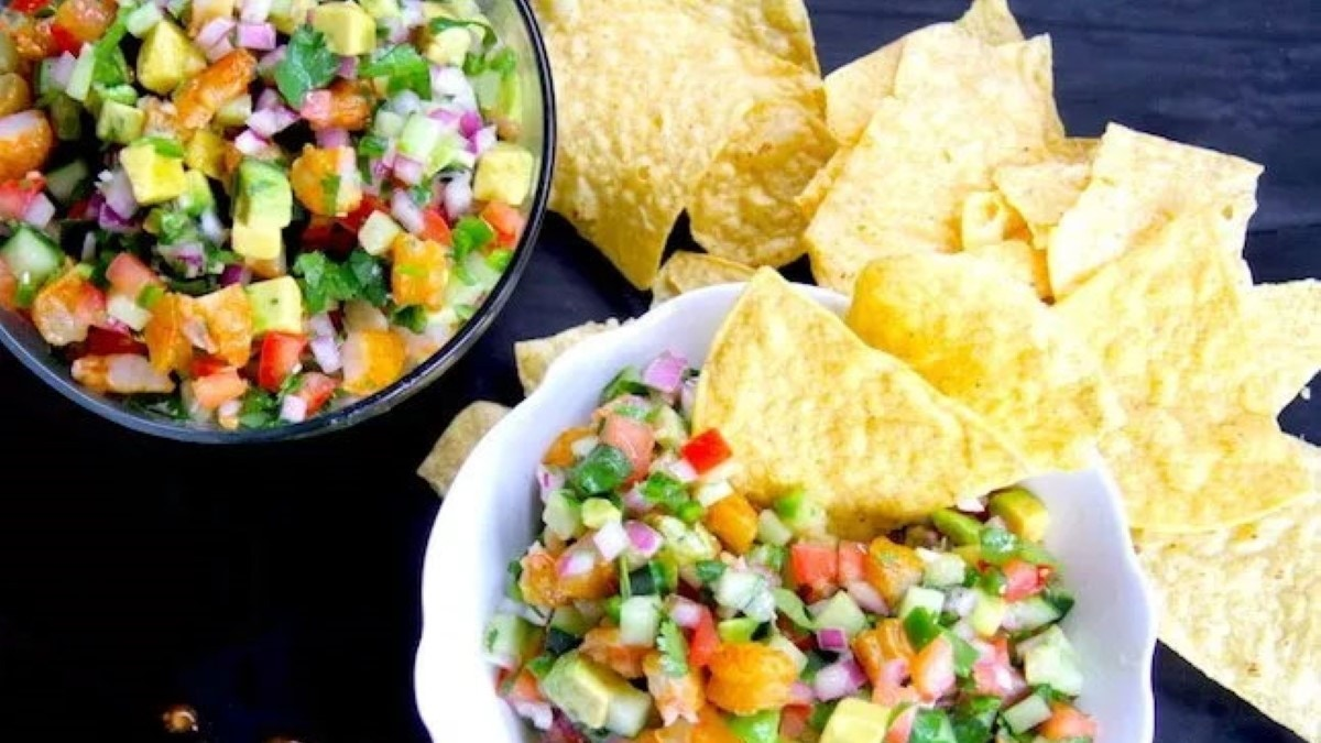 Smoked Shrimp Ceviche Recipe