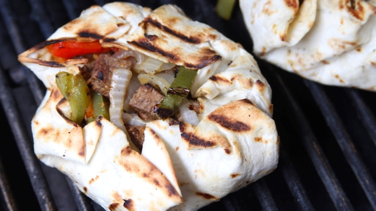 Steak Fajita Burger Recipe