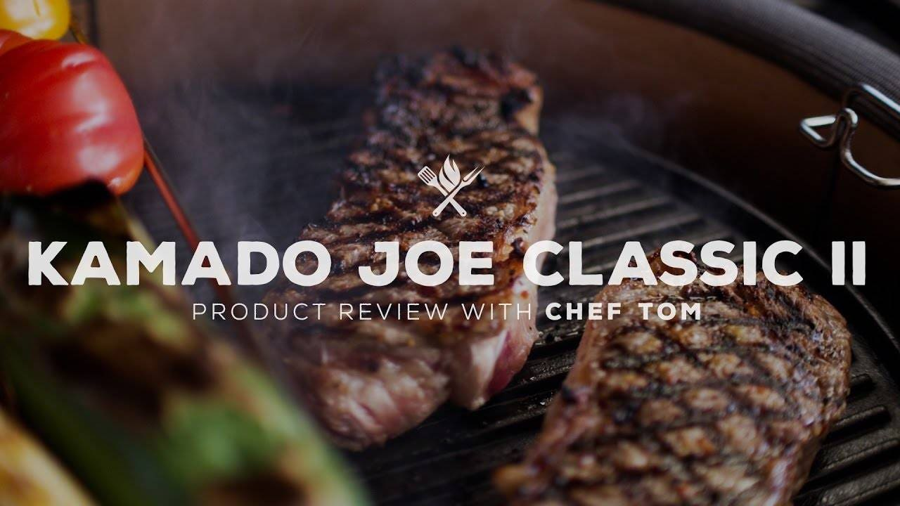 Kamado Joe Classic II Ceramic Grill Overview and Cooking Test